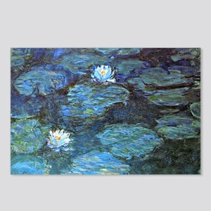 Claude Monet's Water Lili Postcards (Package of 8)