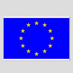 european union flag Postcards (Package o