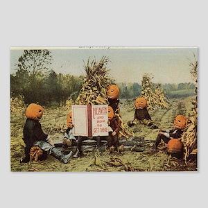 pumpkin-heads Postcards (Package of 8)