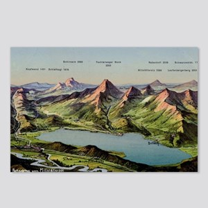 panorama-1914 Postcards (Package of 8)