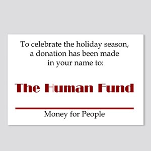 Human Fund Postcards (Package of 8)