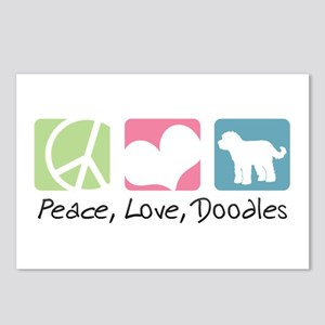 Peace, Love, Doodles Postcards (Package of 8)
