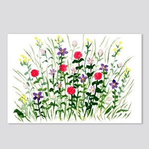Field of Flowers Postcards (Package of 8)