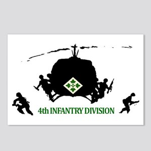 4th INFANTRY DIVISION Postcards (Package of 8)