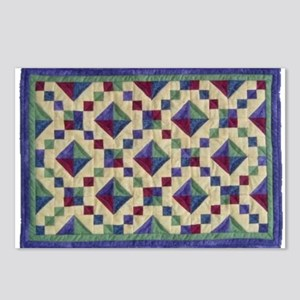 Jewel Box Quilt Postcards (Package of 8)