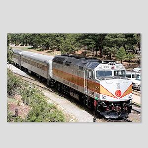 Railway Locomotive, Grand Postcards (Package of 8)