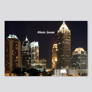 Atlanta, Georgia at Night Postcards (Package of 8)