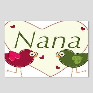 nanalovebirds Postcards (Package of 8)