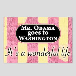 James Stewart/Barack ObamaPostcards (Package of 8)