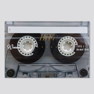 Cassette Tape Laptop Slee Postcards (Package of 8)