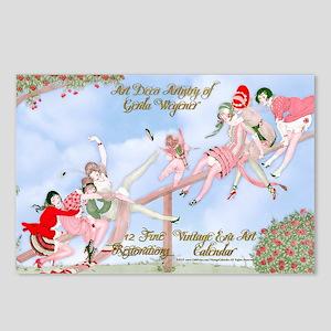 1 A Gerda Wegener Art Dec Postcards (Package of 8)