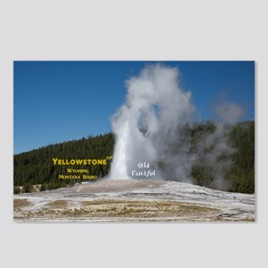Yellowstone Postcards (Package of 8)