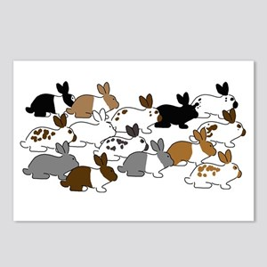 Many Bunnies Postcards (Package of 8)