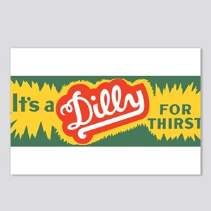 Dilly Soda 3 Postcards (Package of 8)