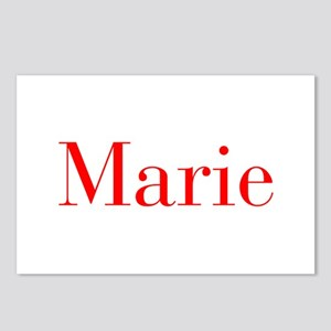 Marie-bod red Postcards (Package of 8)