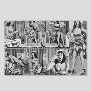 bettie page Postcards (Package of 8)
