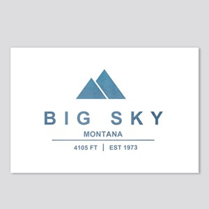 Big Sky Ski Resort Montana Postcards (Package of 8