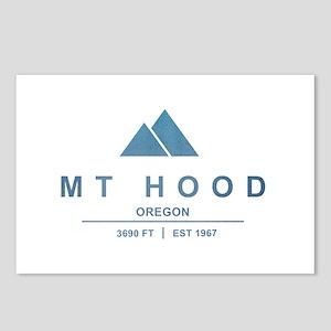 Mt Hood Ski Resort Oregon Postcards (Package of 8)