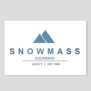 Snowmass Ski Resort Colorado Postcards (Package of