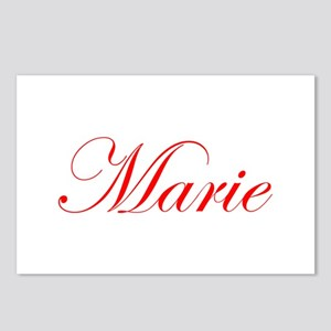 Marie-Edw red 170 Postcards (Package of 8)
