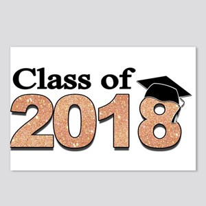 Class of 2018 Glitter Postcards (Package of 8)