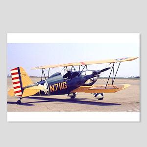 Bi-Plane 3 Postcards (Package of 8)