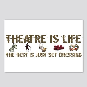 Theatre is Life Postcards (Package of 8)