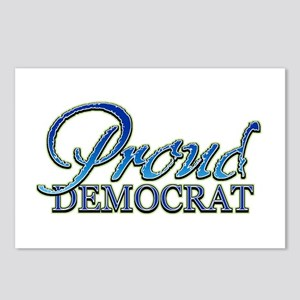 Classy Proud Democrat Postcards (Package of 8)