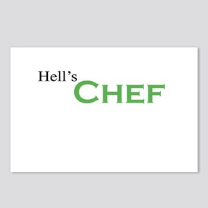 Hell's Chef Postcards (Package of 8)