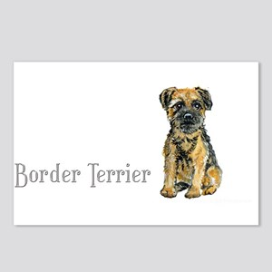 Border Terrier Postcards (Package of 8)