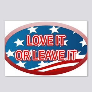 LOVE IT OR LEAVE IT! AMER Postcards (Package of 8)