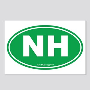 New Hampshire NH Euro Ova Postcards (Package of 8)