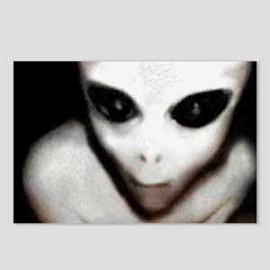 Alien Grey Postcards (Package of 8)