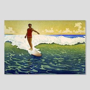 Hawaii - Charles William Bartlett - 1918 Postcards