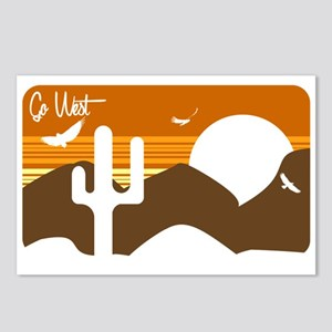 Go West Postcards (Package of 8)