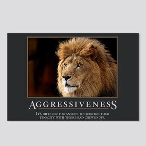 Aggressiveness Postcards (Package of 8)