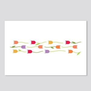 Tulip Border Postcards (Package of 8)