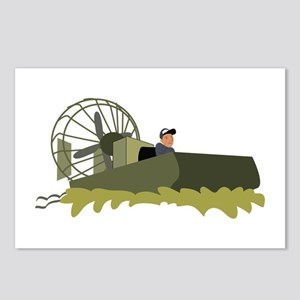 Bayou Airboat Postcards (Package of 8)