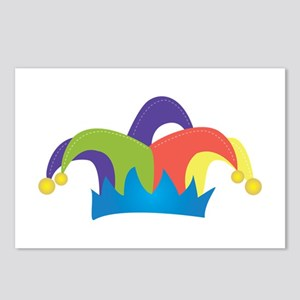 Jester Hat Postcards (Package of 8)
