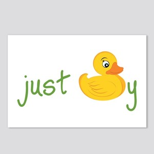 Just Ducky Postcards (Package of 8)
