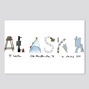 The Great Land - Color Postcards (Package of 8)