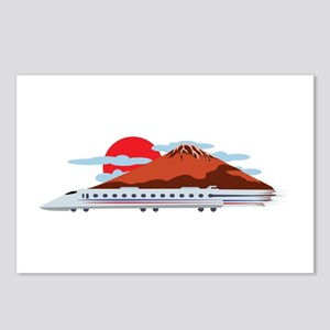 Bullett Train Postcards (Package of 8)