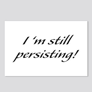 I'm Still Persisting Postcards (Package of 8)