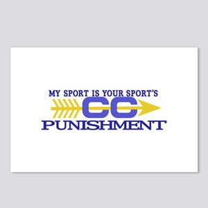 My Sport/Punishment Postcards (Package of 8)