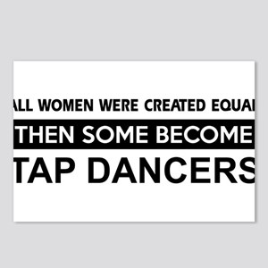tap created equal designs Postcards (Package of 8)