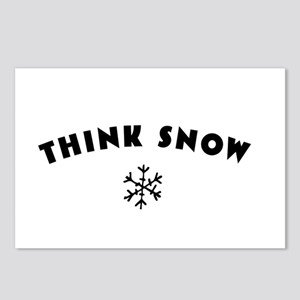 Think Snow Postcards (Package of 8)