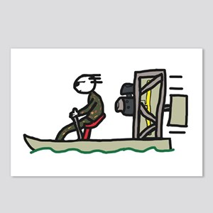 Swamp Boat Postcards (Package of 8)