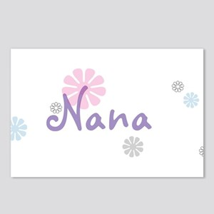 Nana Flowers Postcards (Package of 8)