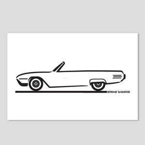 1961 Ford Thunderbird Convertible Postcards (Packa