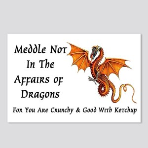 Meddle Not In The Affairs of Dragons... Postcards